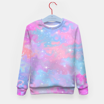 Thumbnail image of Psychedelic Space Kid's sweater, Live Heroes