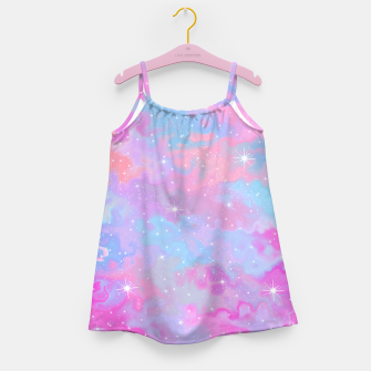 Psychedelic Space Girl's dress thumbnail image