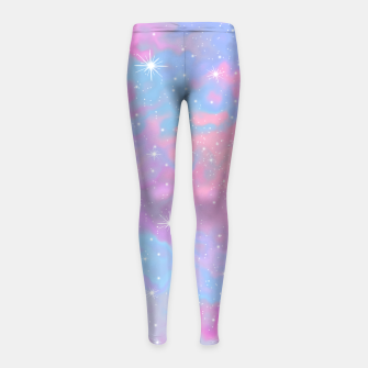 Psychedelic Space Girl's leggings thumbnail image