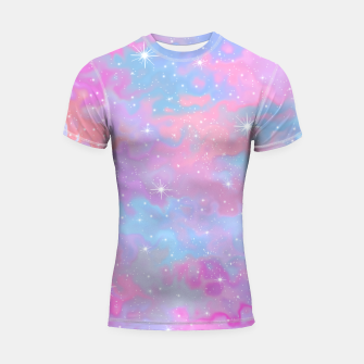 Thumbnail image of Psychedelic Space Shortsleeve rashguard, Live Heroes