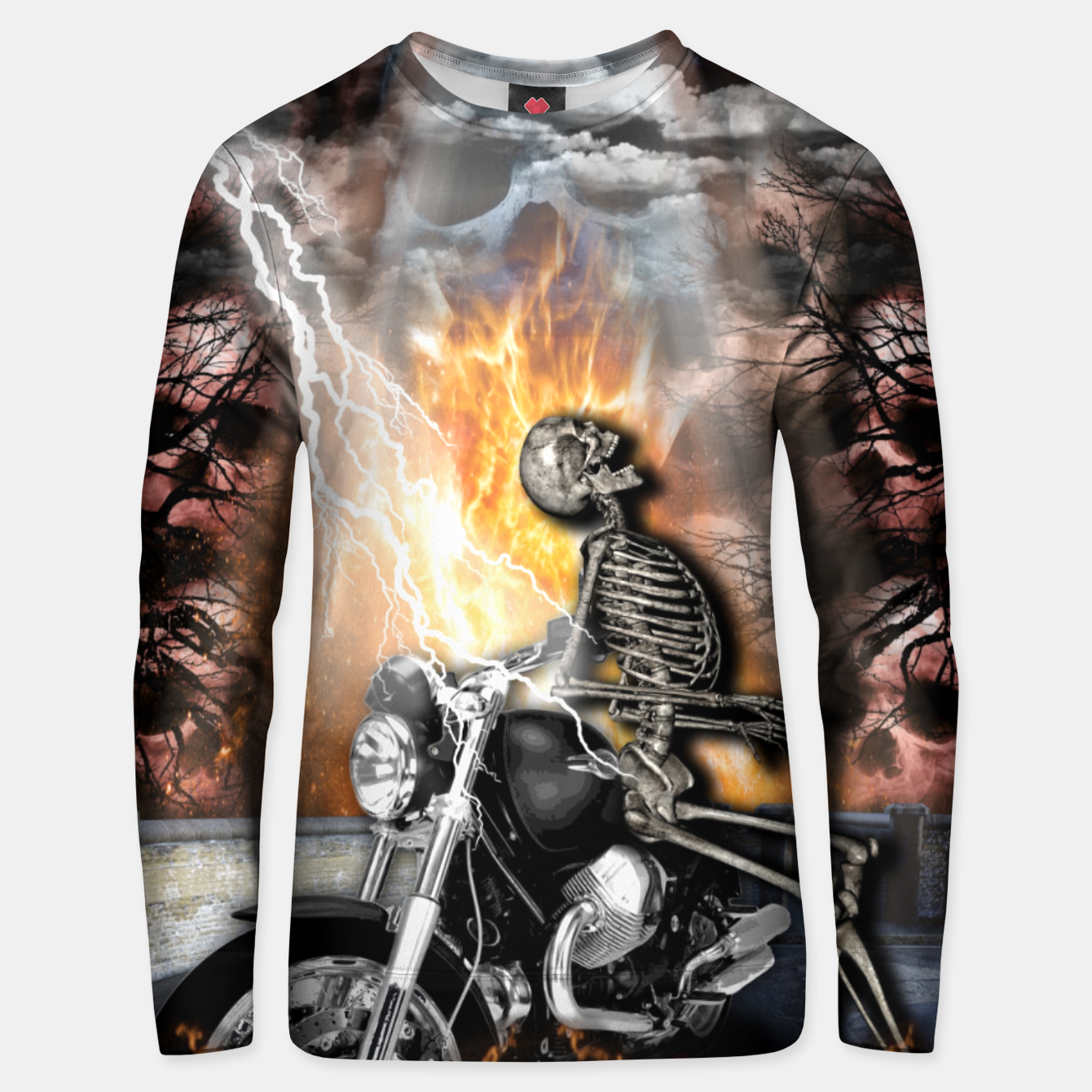 Image of GO TO HELL Sudadera unisex - Live Heroes
