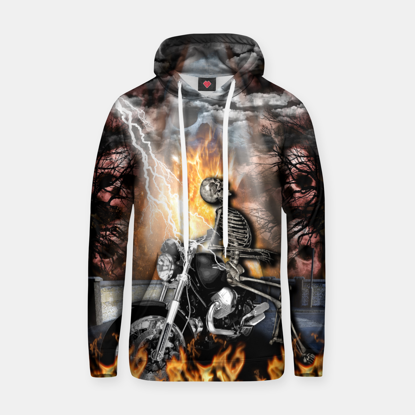 Image of GO TO HELL Sudadera con capucha - Live Heroes