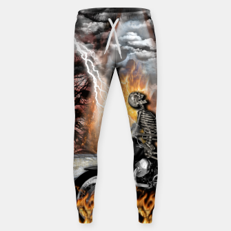 Thumbnail image of GO TO HELL Pantalones de chándal , Live Heroes