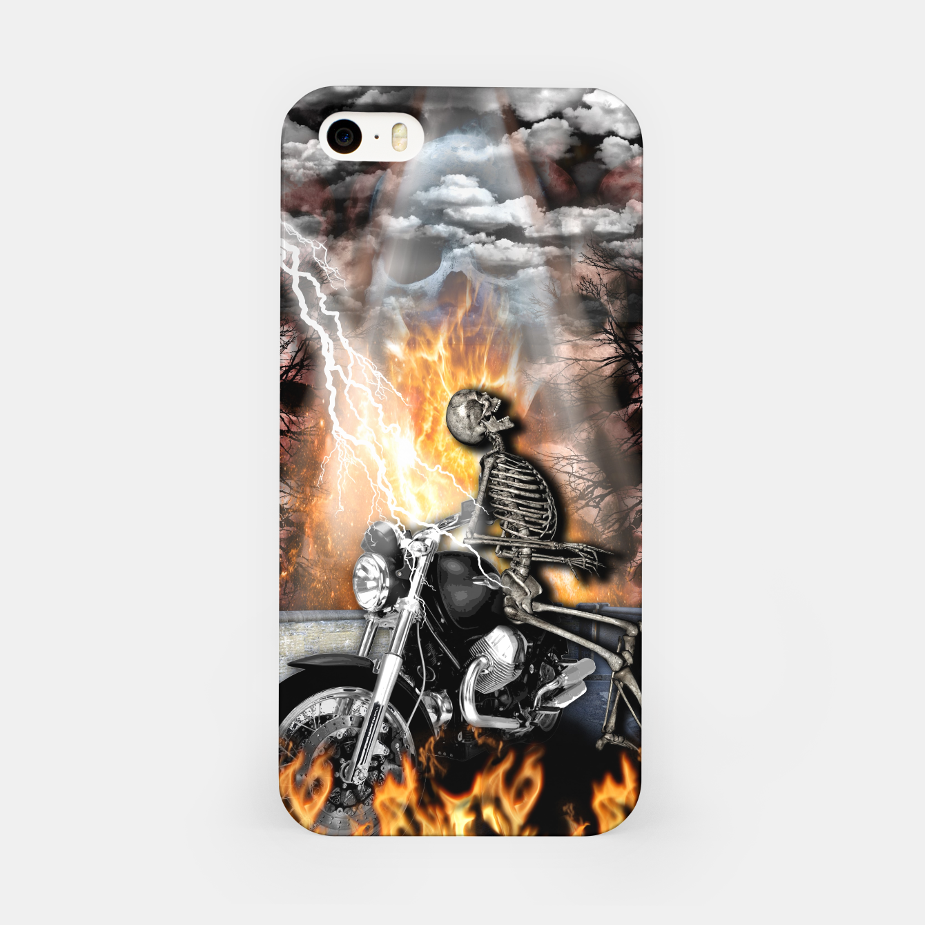 Image of GO TO HELL Carcasa por Iphone - Live Heroes