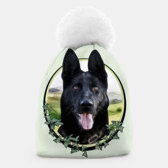 Thumbnail image of Black German Shepherd - Graphic Style Mütze, Live Heroes