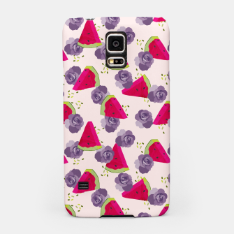 Miniatur Roses and Watermelons Samsung Case, Live Heroes