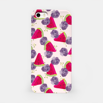 Miniatur Roses and Watermelons iPhone Case, Live Heroes