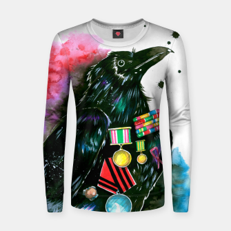 Thumbnail image of warrior Women sweater, Live Heroes