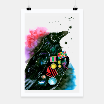 Thumbnail image of warrior Poster, Live Heroes