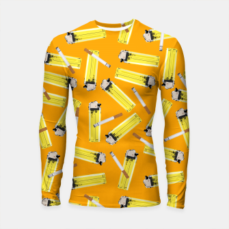 Thumbnail image of Candy for the Lungs Longsleeve rashguard , Live Heroes
