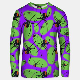 Thumbnail image of Halloween Unisex sweater, Live Heroes