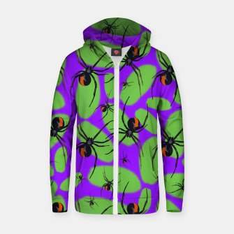 Thumbnail image of Halloween Zip up hoodie, Live Heroes