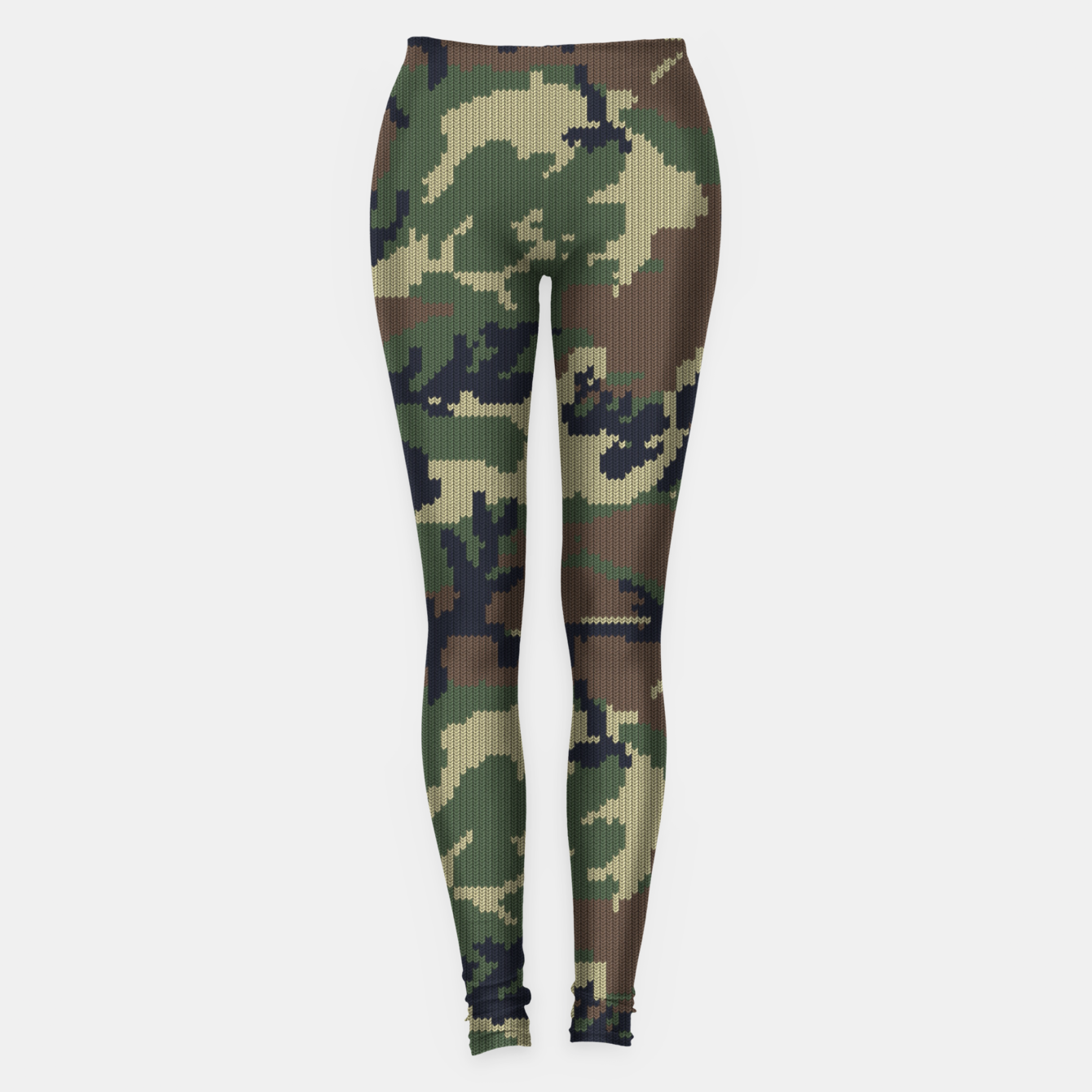 Image of Knitted camo sweater Leggings - Live Heroes