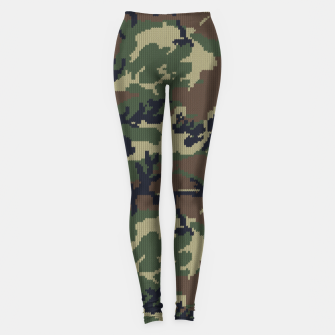 Thumbnail image of Knitted camo sweater Leggings, Live Heroes