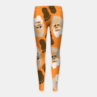 Miniaturka  Harry Bigfoot Girl's leggings, Live Heroes