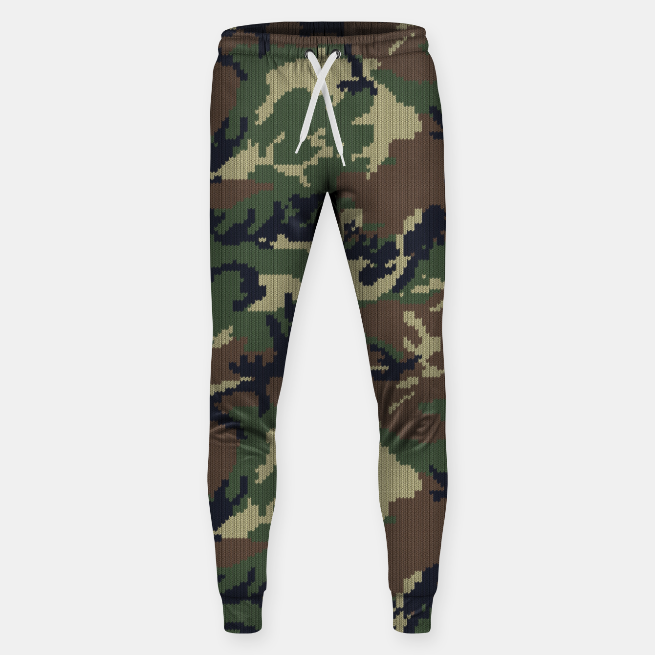 Image of Knitted camo sweater Sweatpants - Live Heroes