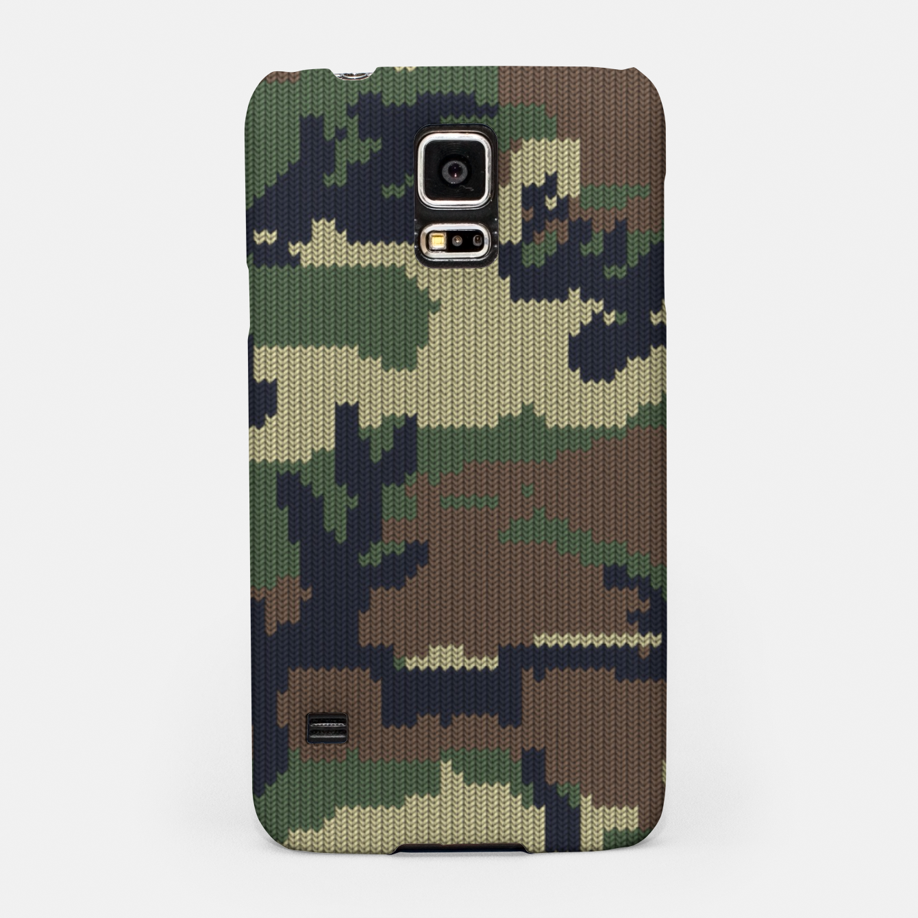 Image of Knitted camo sweater Samsung Case - Live Heroes