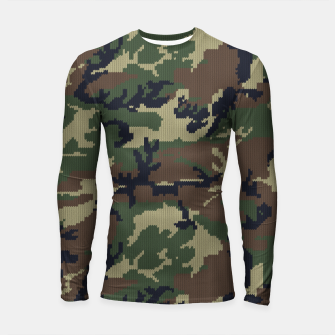 Thumbnail image of Knitted camo sweater Longsleeve rashguard , Live Heroes