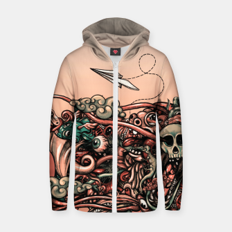 Miniaturka Head Scream Doodle Zip up hoodie, Live Heroes
