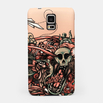 Miniatur Head Scream Doodle Samsung Case, Live Heroes