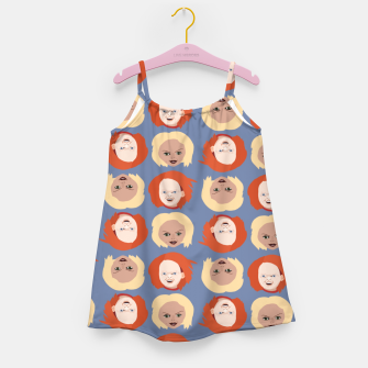 Thumbnail image of Chucky and Bride Girl's dress, Live Heroes