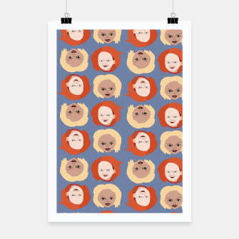 Thumbnail image of Chucky and Bride Poster, Live Heroes