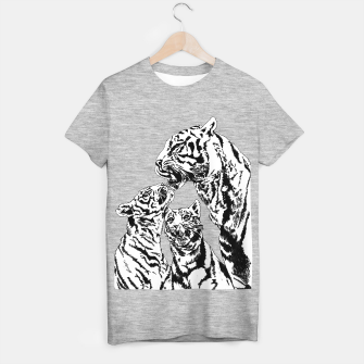 Thumbnail image of tiger family t shirt, Live Heroes