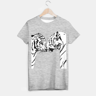Thumbnail image of tigers meet t shirt, Live Heroes