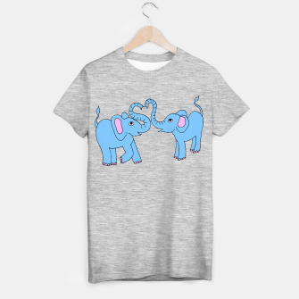 Thumbnail image of elephant love t shirt, Live Heroes