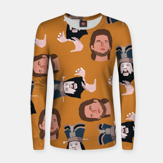 Thumbnail image of Trouble in Little China Women sweater, Live Heroes