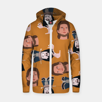 Thumbnail image of Trouble in Little China Zip up hoodie, Live Heroes