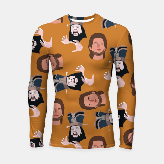 Thumbnail image of Trouble in Little China Longsleeve rashguard , Live Heroes