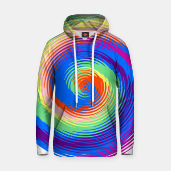 Thumbnail image of Colorful spiral Hoodie, Live Heroes