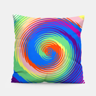 Miniatur Colorful spiral Pillow, Live Heroes