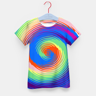Miniatur Colorful spiral Kid's t-shirt, Live Heroes