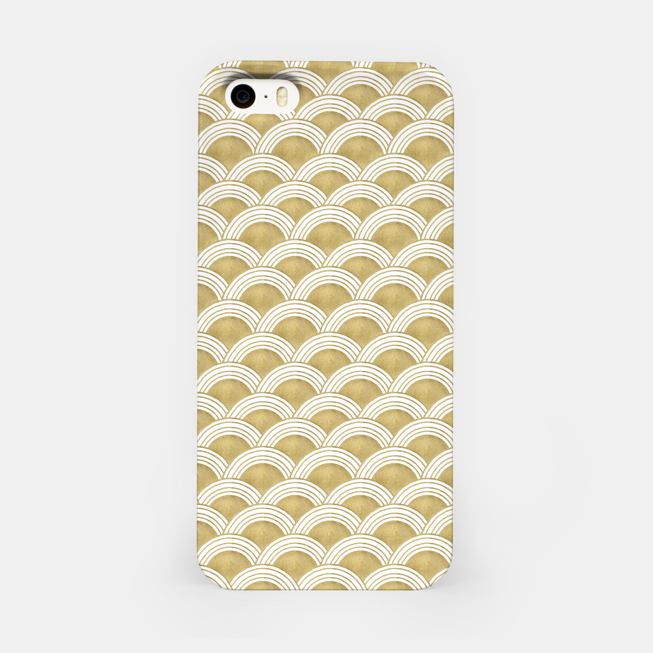 Zdjęcie Japanese Wave Gold Glam #1 #decor #art  iPhone-Hülle - Live Heroes