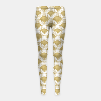 Japanese Wave Gold Glam #1 #decor #art  Kinder-Leggins thumbnail image