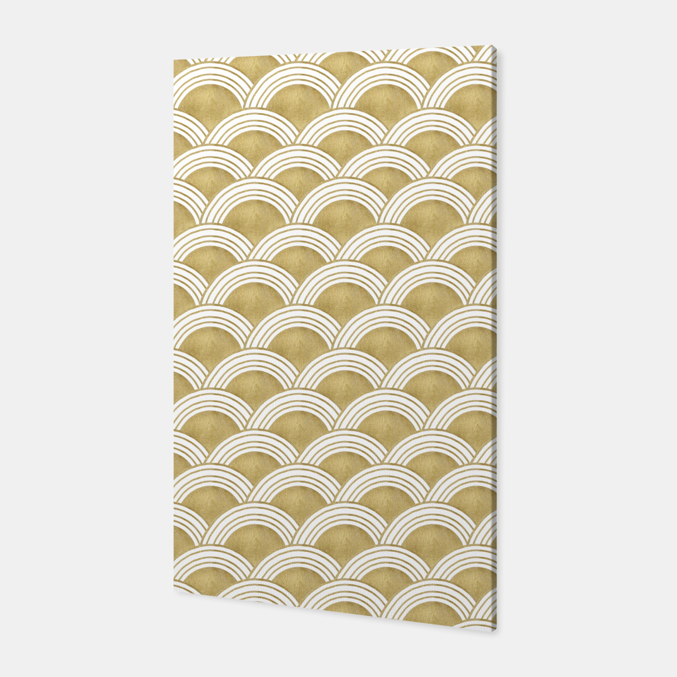 Zdjęcie Japanese Wave Gold Glam #1 #decor #art  Canvas - Live Heroes