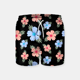 Flora Dark Swim Shorts thumbnail image