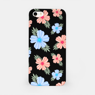 Flora Dark iPhone Case Bild der Miniatur