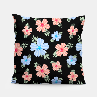 Flora Dark Pillow thumbnail image