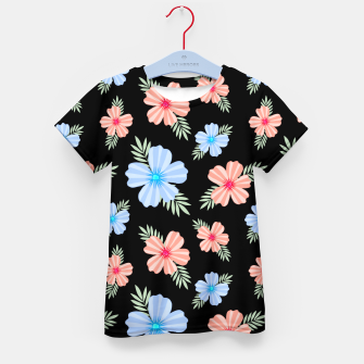 Flora Dark Kid's t-shirt thumbnail image