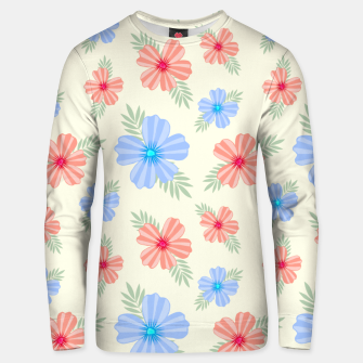 Miniatur Flora Light Unisex sweater, Live Heroes
