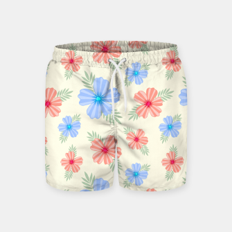 Miniatur Flora Light Swim Shorts, Live Heroes