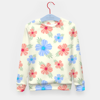 Flora Light Kid's sweater Bild der Miniatur