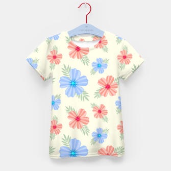 Flora Light Kid's t-shirt Bild der Miniatur