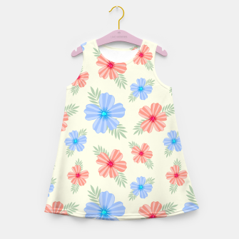 Flora Light Girl's summer dress Bild der Miniatur