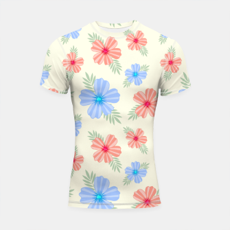 Thumbnail image of Flora Light Shortsleeve rashguard, Live Heroes