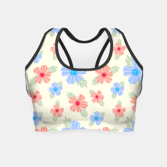 Miniatur Flora Light Crop Top, Live Heroes