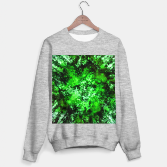 Green burst Sweater regular thumbnail image